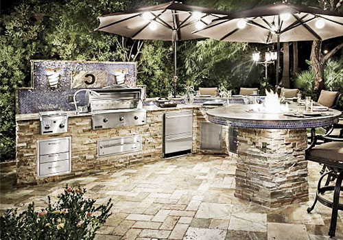 Outdoor Kitchen Display New