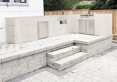 Outdoor Kitchen Foundation #2