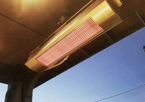 Elevated Heater Display