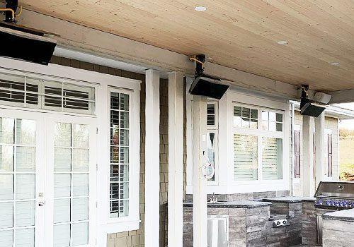 Outdoor Heater Display