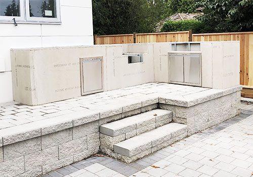 Outdoor Kitchen Foundation 2