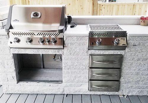Outdoor Kitchen Display 3